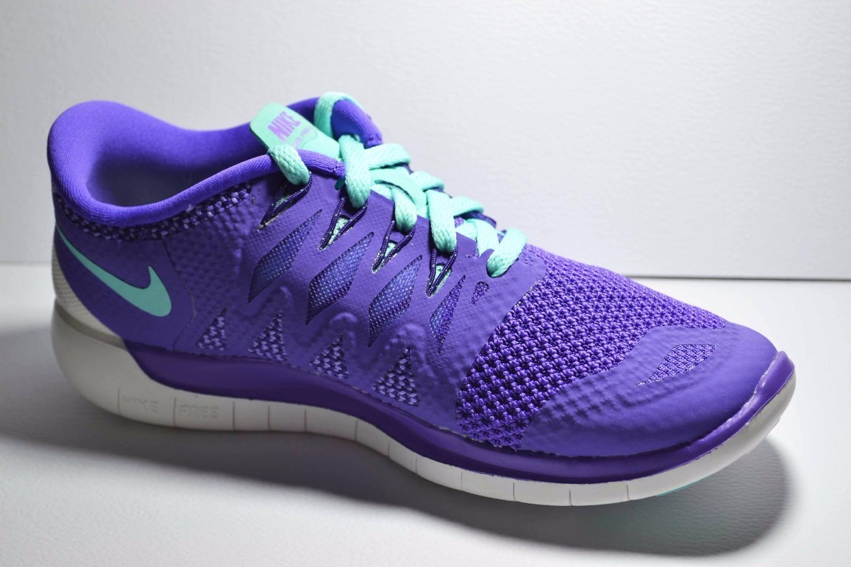 Zapatillas Nike Free 5.0 Mujer Lila Liquidación!!! Talle 36 ...
