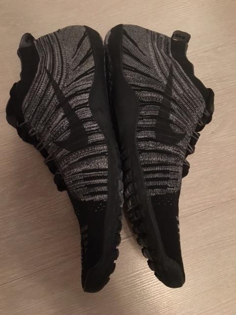 best website fcaab bbb3b ... zapatillas nike free hyperfeel black wolf grey talla 9.5usa .