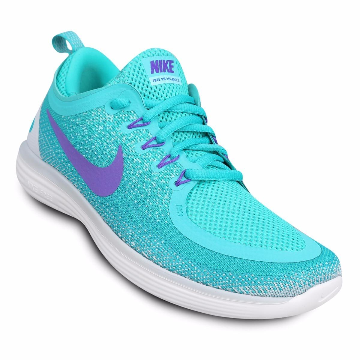 wholesale dealer 7a8f5 ab658 Zapatillas Nike Free Rn Distance 2 Mujer Originales - $ 2.599,00 en ...