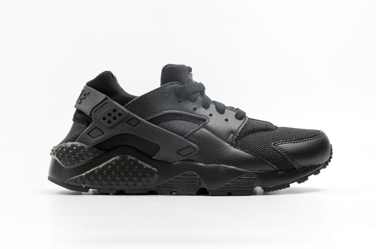 sports shoes 03c3c 0c6d2 zapatillas nike huarache negro niño originales. Cargando zoom.