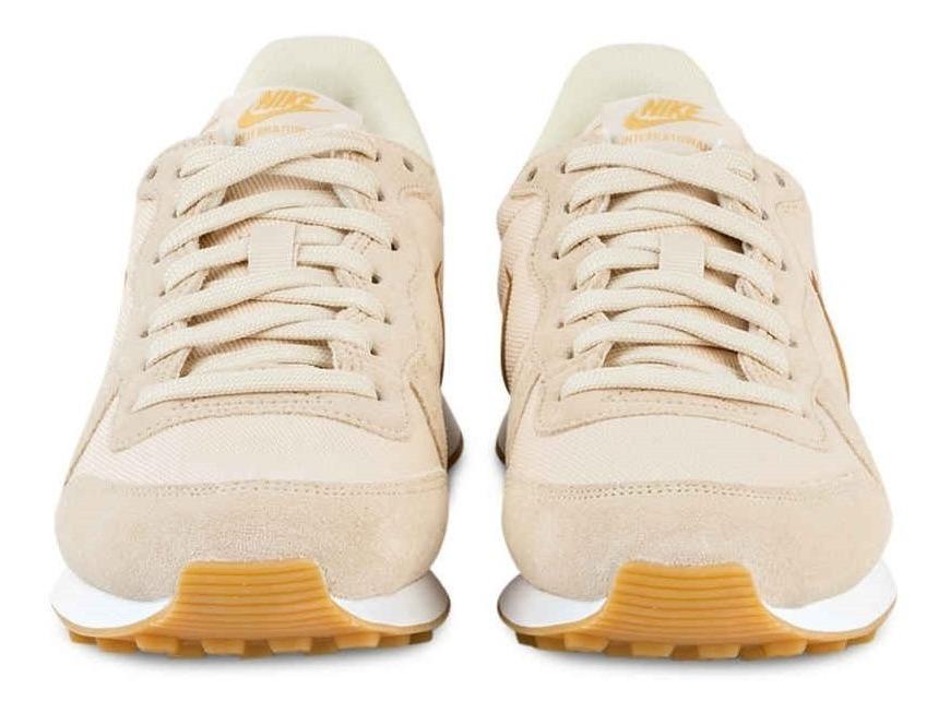 zapatillas nike internationalist mujer beige