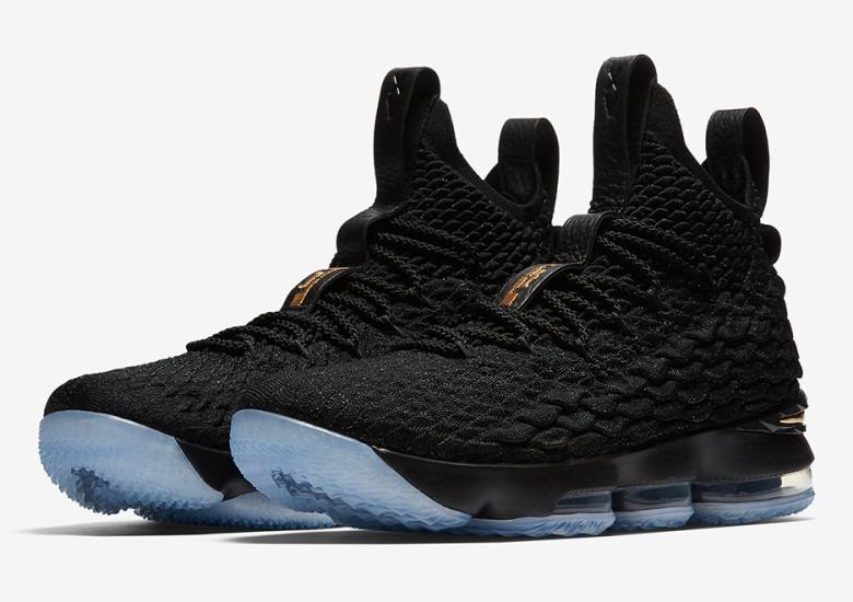 32ac27d920fff Zapatillas Nike James Lebron 15 Black   Gold - S  420