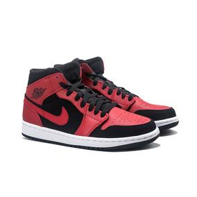 new product 14d96 0fb01 Zapatillas Nike Jordan 1 Mid - Black gym Red White