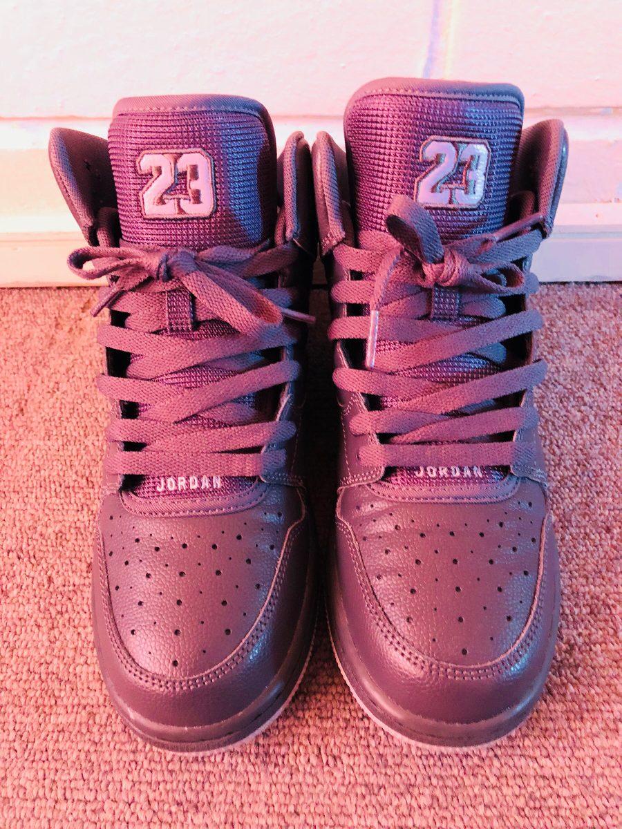 Zapatillas Nike Jordan Gris Oscuro Originales -   60.000 en Mercado ... 9febc83cab6