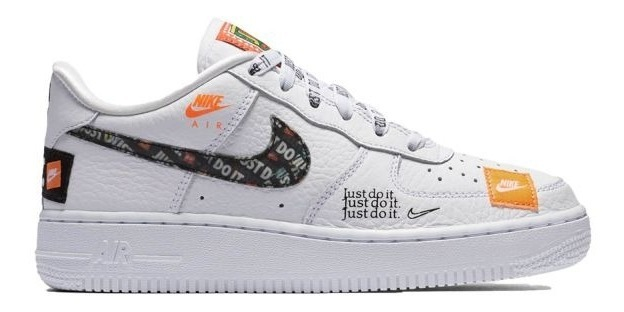 Zapatillas Nike Just Do It Air Force One 1 Hombre Y Mujer