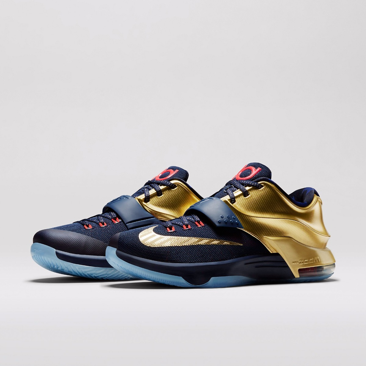 size 40 05d6c f4c56 Zapatillas Nike Kd 7 Vii Premium | Gold Medal 2017 Original