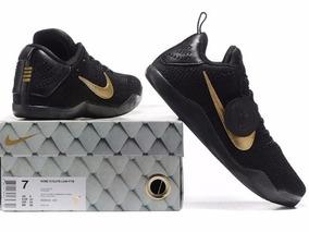 Zapatillas Nike Kobe 11 Elite Low 4kb Black 2017 2018