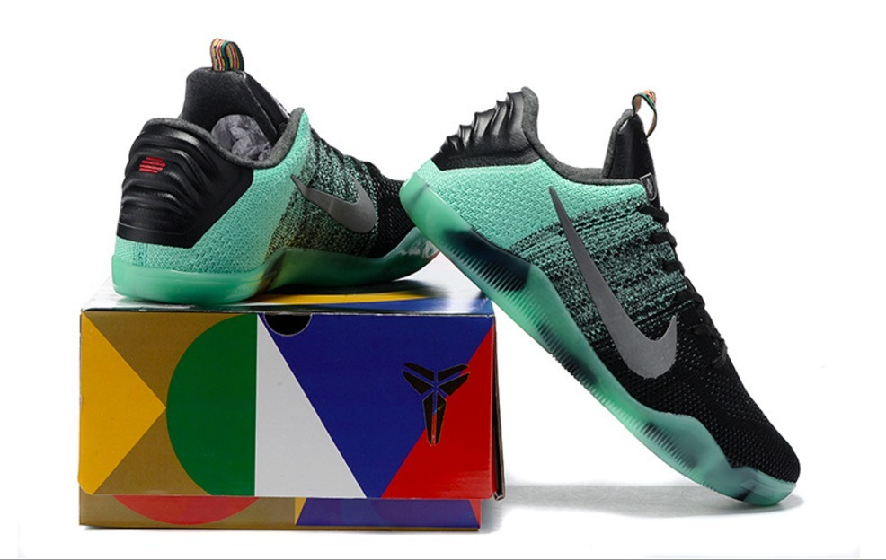 pretty nice 7f191 8a575 ... france zapatillas nike kobe 11 elite low verdes. cargando zoom. 062aa  6d12b