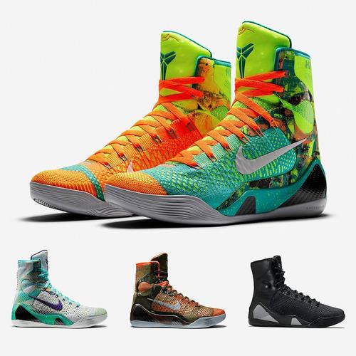 zapatillas nike kobe 9   botin basketball hombre what the