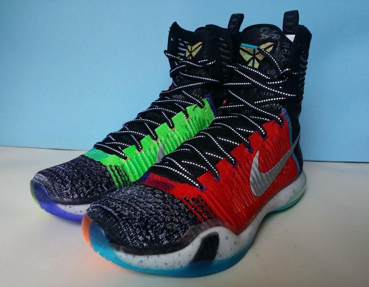 Zapatillas Nike Kobe X Elite Se What The. A Pedido Usa