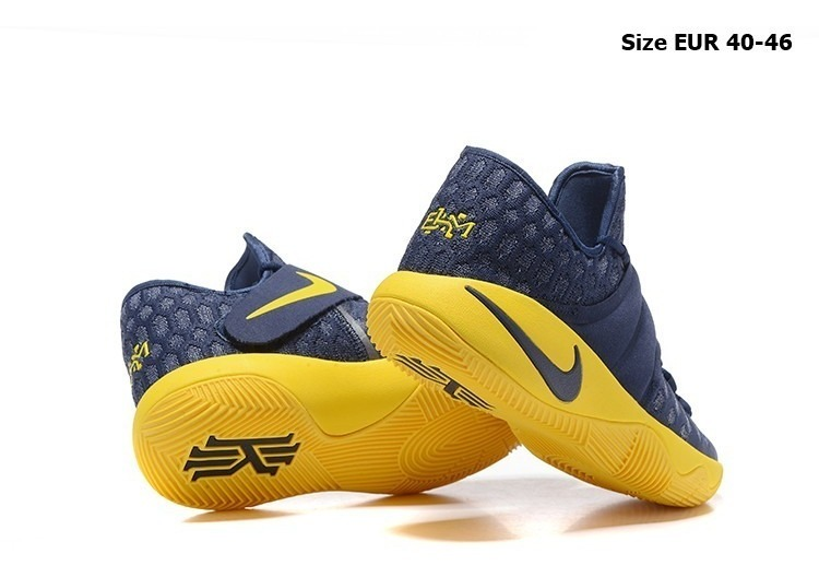 uk availability e0c4d eba19 Zapatillas Nike Kyrie 2 Yellow Blue 40-46