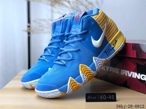 finest selection 93348 1dbb0 Zapatillas Nike Kyrie 4 Bhm Ep Light Blue 40.46