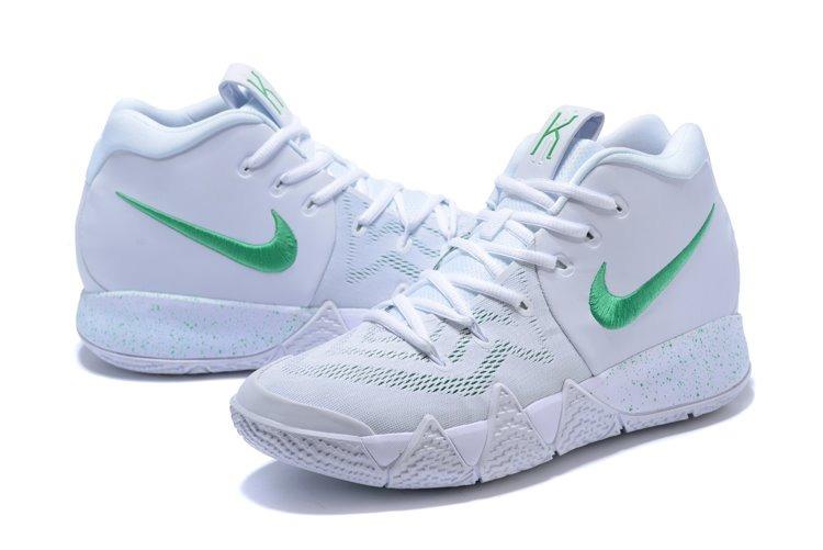 c03deb4ee0d ... france zapatillas nike kyrie 4 blanco y verde talla.40 46 6dbd2 0370d