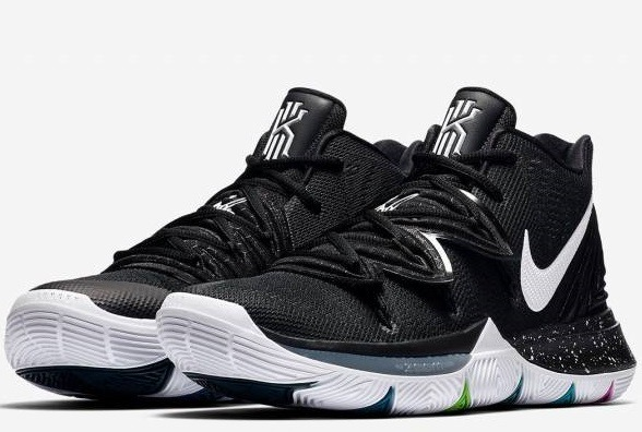 best sneakers a92af c7bc6 zapatillas nike kyrie 5 black magic multi-color 40-46