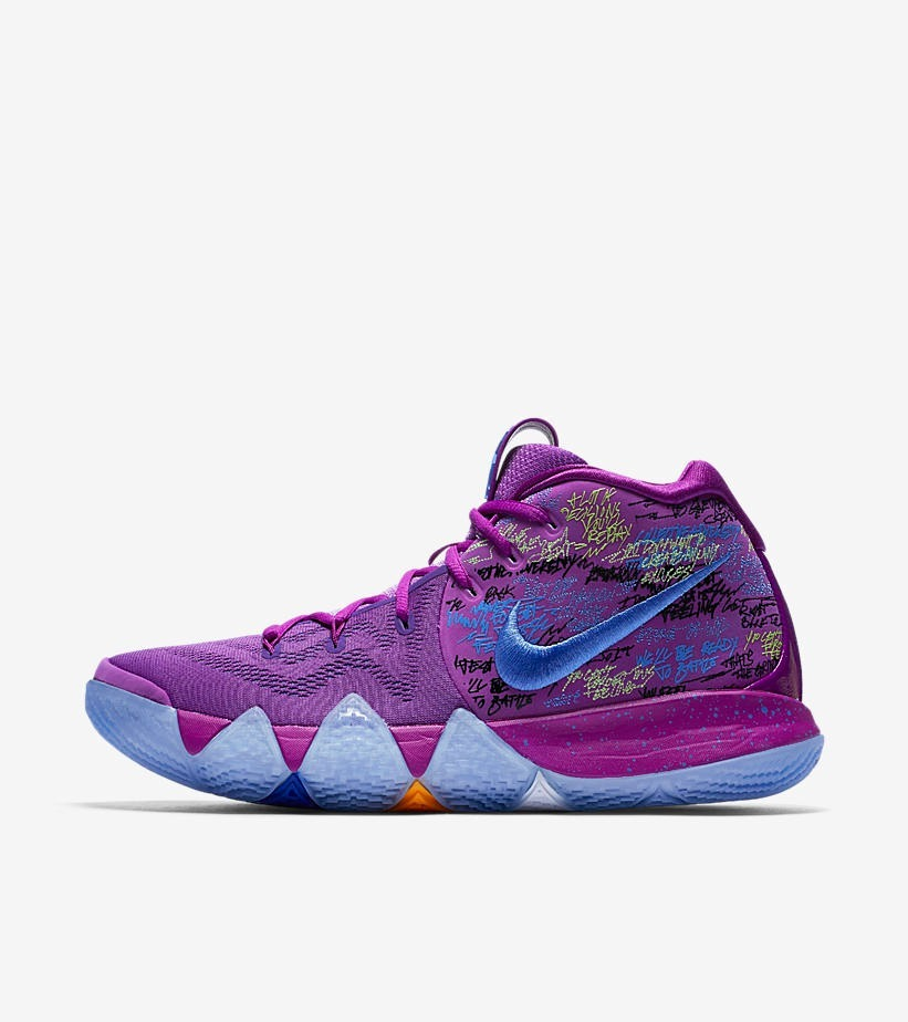 the best attitude 1a45c ee9e7 Zapatillas Nike Kyrie Irving 4 - Confetti