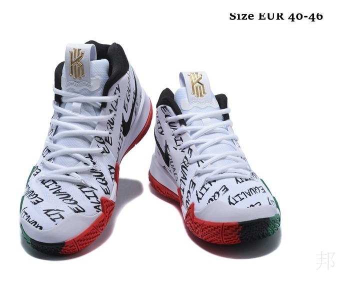hot sale online 49143 f7300 Zapatillas Nike Kyrie Irving 4 White-black Green 7/12