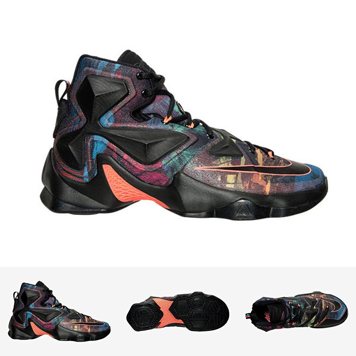 Zapatillas Nike Lebron 13 | Multicolor - S/ 499,00 en Mercado Libre