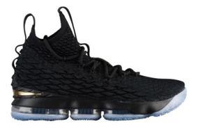 Zapatillas Nike Lebron 15 Black Gold