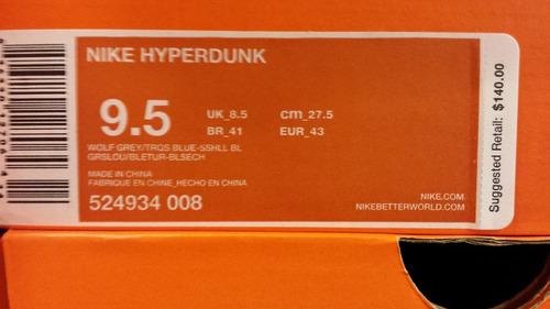 zapatillas nike lebron hyperdunk-modelo nike-usa 10.5us