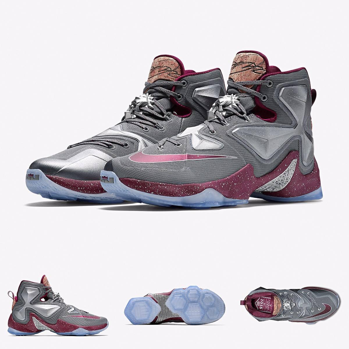 outlet store ef971 99728 Zapatillas Nike Lebron James 13 Wheat Original 2016