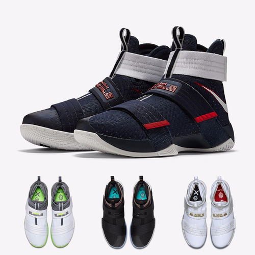 zapatillas nike lebron soldier 10 2016 original