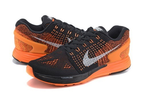 buy online 1d675 c0fb7 spain zapatillas nike lunarglide 7 negro naranja running air max caaa9 e1ae8