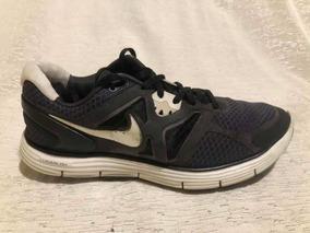 Zapatillas Nike Lunarlon Talle 39 Us 8 Muy Buen Estado