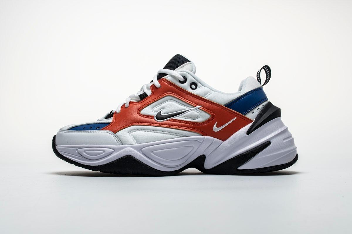 a64ff52f2 zapatillas nike m2k tekno blanco -rojo -azul. Cargando zoom.