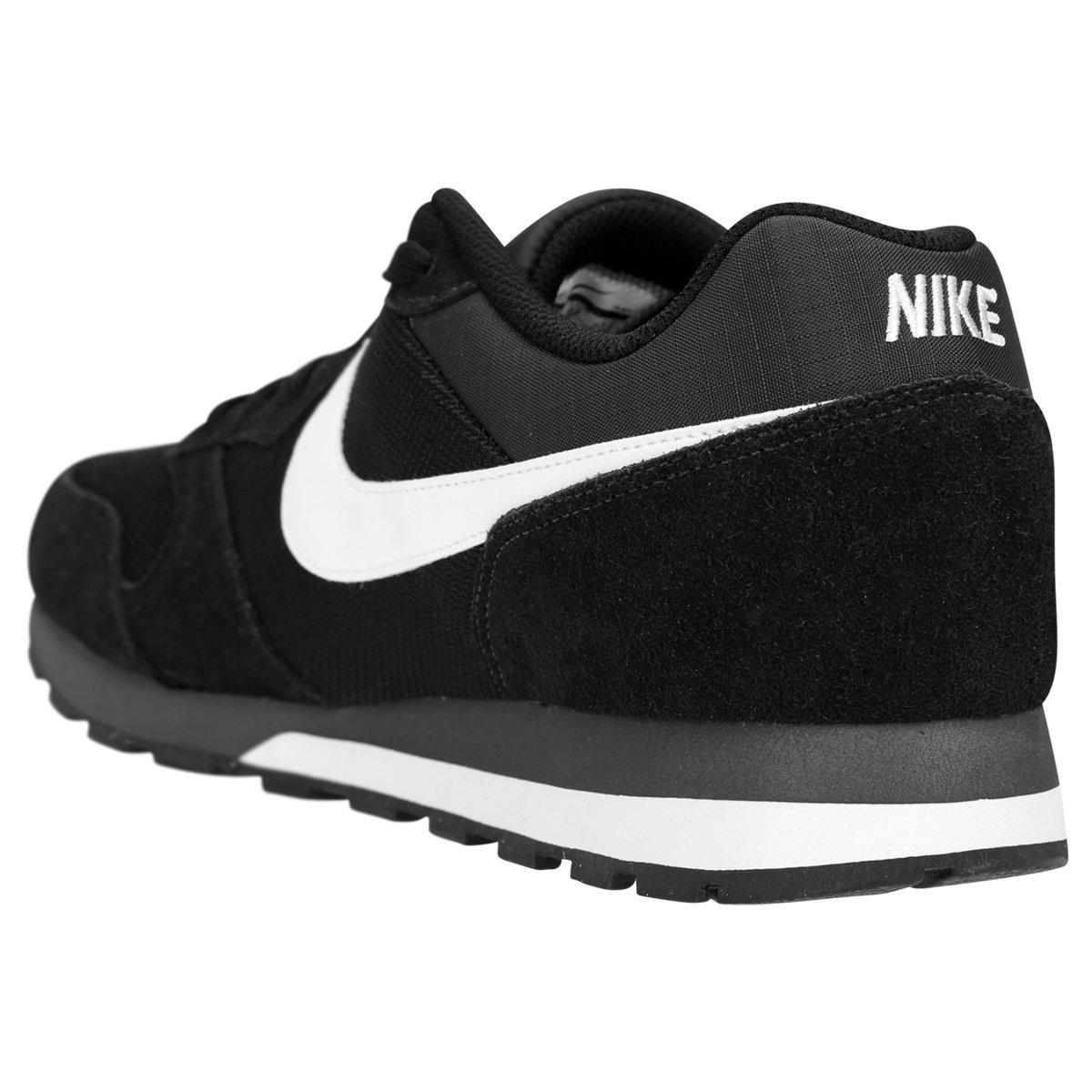 zapatillas nike md runner 2 negro blanco
