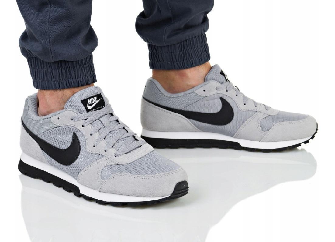 Zapatillas Nike Md Runner 2 Para Hombre - Gris Y Negro