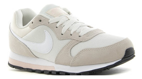 Zapatillas Nike Md Runner 2 Phantom White Mujer