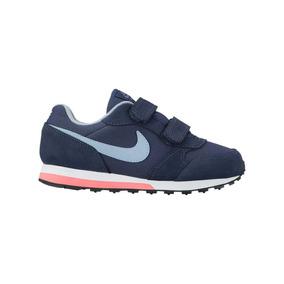 54a34c893b Zapatilla Azul Nike Md Runner 2 Niños - Zapatillas en Mercado Libre ...