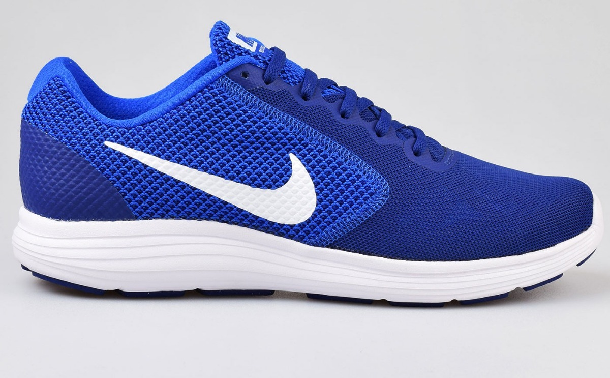 c058300d17ead zapatillas nike men s revolution 3 blue running originales. Cargando zoom.