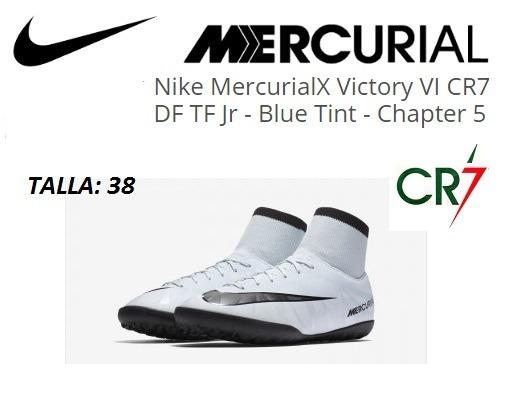 Zapatillas Nike Mercurial Para Niño Cr7 Nuevas Originales - S  400 ... 72b7d6ab293a5