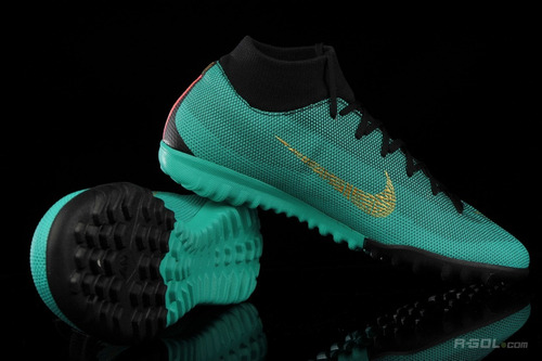 zapatillas nike mercurial superflyx 6 academy cr7 tf 2018