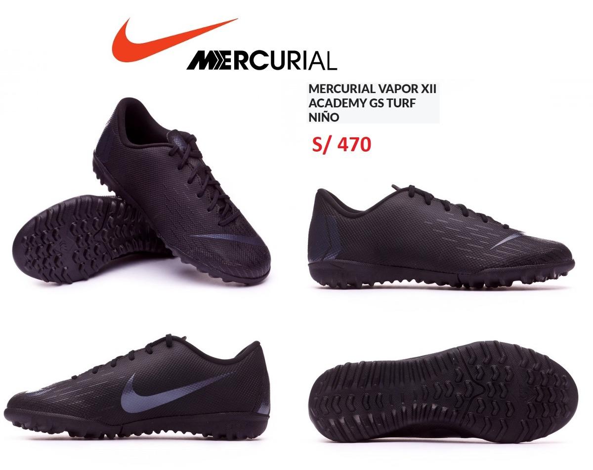 a5798f566ed4b zapatillas nike mercurial vapor 2018 para niños turf nuevas. Cargando zoom.