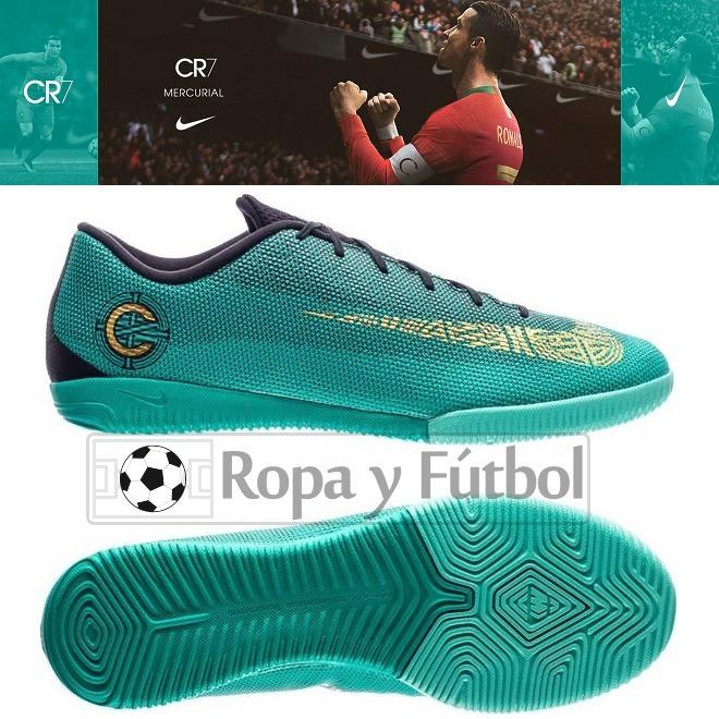 542933789eb71 Zapatillas Nike Mercurial Vaporx 12 Academy Cr7 - Para Losa - S  389 ...