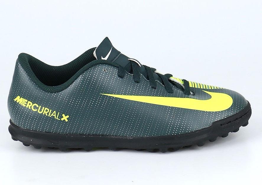 0b708b1c4e0e5 Zapatillas Nike Mercurial X Vortex Fútbol Tf Cr7 Niños - New ...