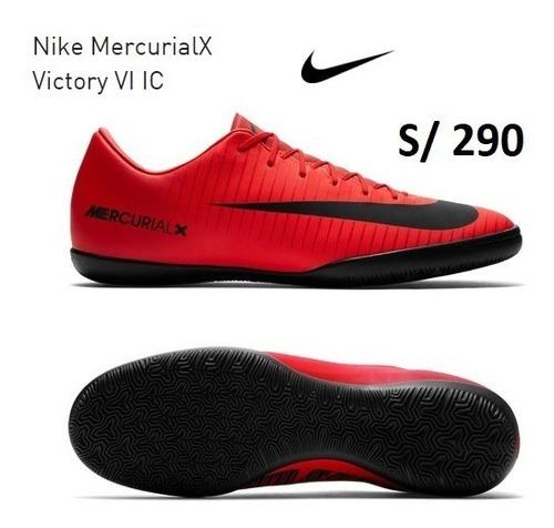 zapatillas nike mercurialx victory 6 para losa nuevas