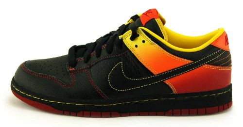 zapatillas nike nyx-dunk-guns n roses colleccion talla 10 us
