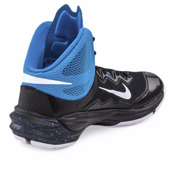 38e4ab08 Zapatillas Nike Original Basquet Prime Hype Df 2 Negro-azul ...