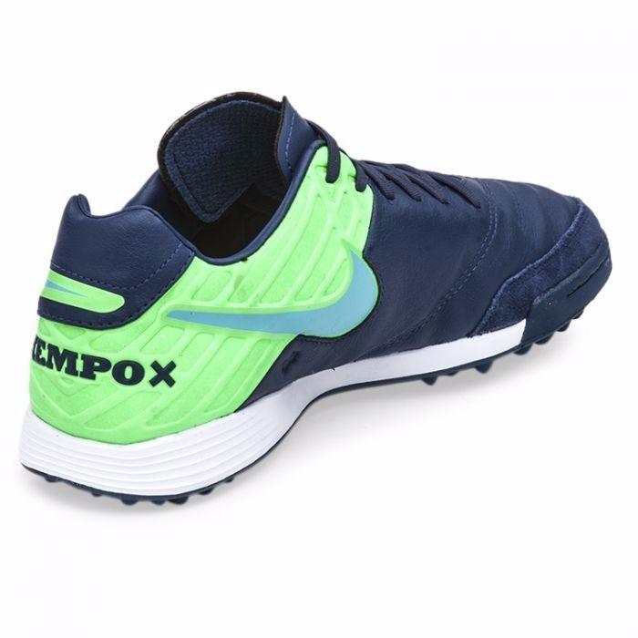 best service fef2f 35a7d Carregando zoom. zapatillas nike original futbol tiempo x mystic 5 tf azul  ...