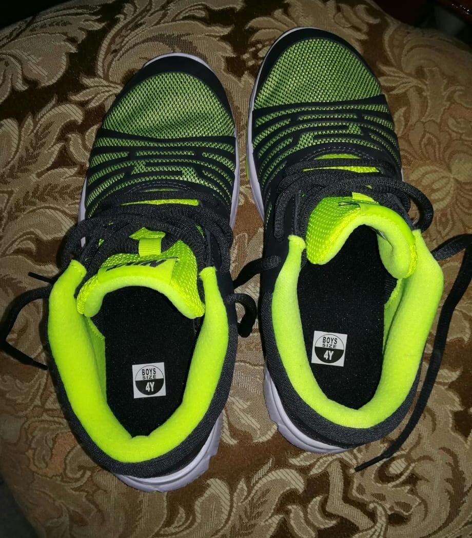Zapatillas Nike Para Niño Talla 36 Original Nueva Importada