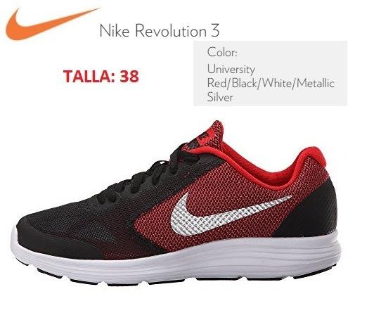 94d24a9ac Zapatillas Nike Para Niños Revolution 3 Nuevas Originales - S  350 ...