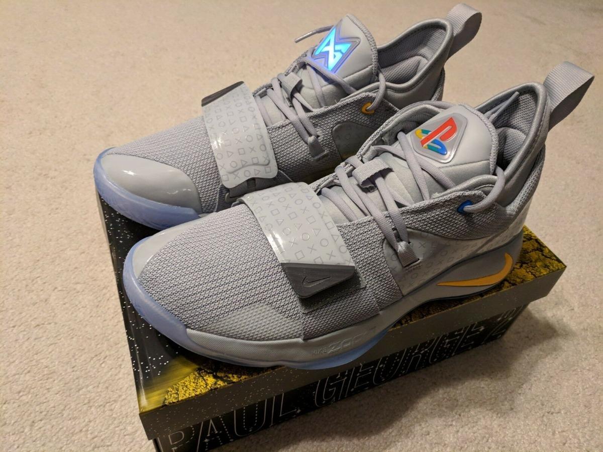 Zapatillas Nike Pg 2.5 Playstation Wolf Grey. A Pedido Usa