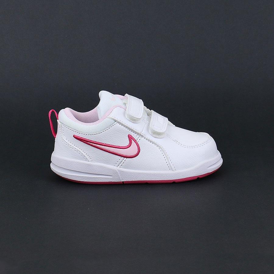 separation shoes 10bf2 e36c3 Zapatillas Nike Pico 4 Blancas Para Niña Tallas 22-27 Ndpi -