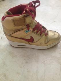 cb6a7a57b4 Botas Nike Con Plataforma Dama - Zapatos en Mercado Libre Venezuela