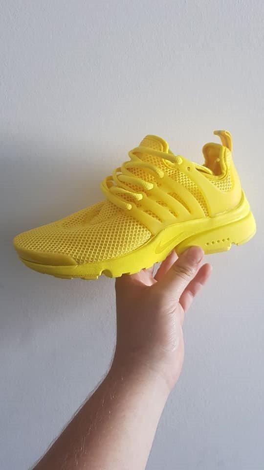 zapatillas amarillas de mujer nike