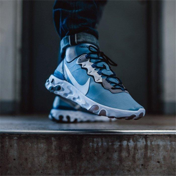Zapatillas Nike React Element 55 Azul Hombre