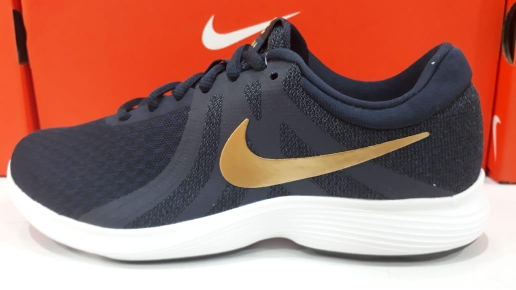 Zapatillas Nike Revolution 4 Mujer Running Nuevas 908999 406